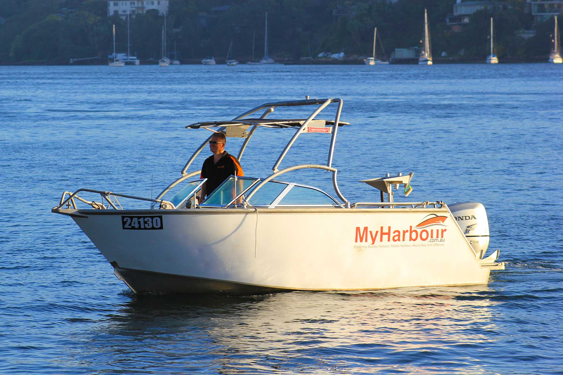 Sydney-Night-Boat-hire-Training